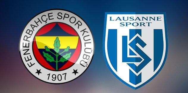 Fenerbahçe - Lozan | MAÇ SONUCU: 1-2 | Fenerbahçe'nin golü Yiğithan Güveli'den...