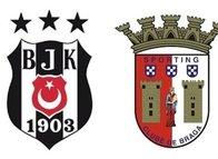 İşte Beşiktaş-Braga muhtemel 11'leri