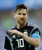 Messi'ye kelepçe