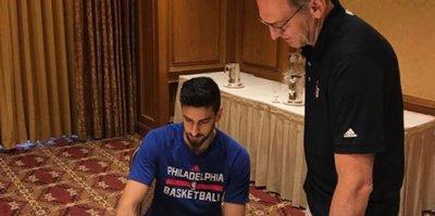 Furkan Korkmaz resmen NBA'de!