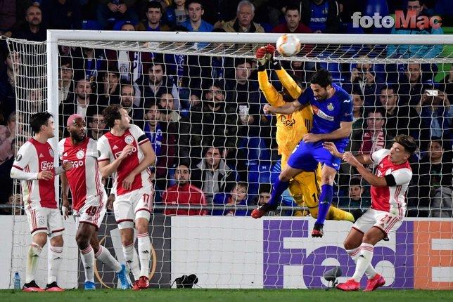 Getafe-Ajax maçında Ryan Babel'den olay hareket! Herkes şaştı kaldı