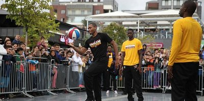 Harlem Wizards Bursa'da