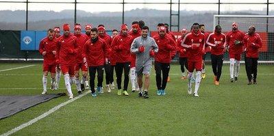 Lider Sivasspor Beşiktaş maçının hazırlıklarını tamamladı