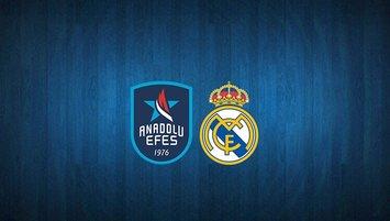 Anadolu Efes - Real Madrid maçı saat kaçta? Hangi kanalda?
