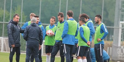 Trabzonspor'da hazırlıklar sürdü