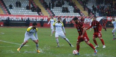 Menemen Belediyespor,  gol oldu yağdı