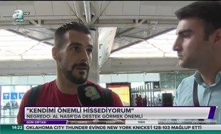 Negredo'dan Beşiktaş itirafı