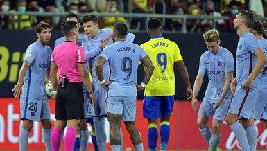 Cadiz Barcelona 0-0 (MAÇ SONUCU - ÖZET)