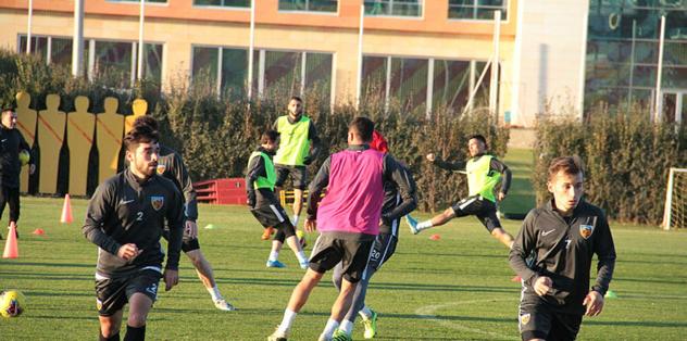 Kayserispor Türkiye Kupası mesaisine başladı