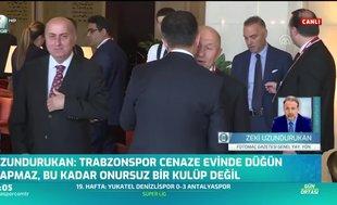 Zeki Uzundurukan'dan Ali Koç'a: Trabzonspor cenaze evinde düğün yapmaz!