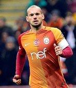 Sneijder'in hali görenleri şoke etti!