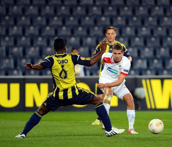Fenerbahçe - Viktoria Plzen maçının fotoğrafları