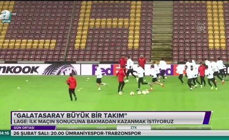 Galatasaray büyük bir takım