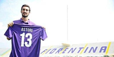 Fiorentina, Astori'nin formasını emekliye ayırdı