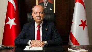Kıbrıs Cumhurbaşkanı Ersin Tatar'dan Beşiktaş'a tebrik