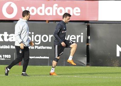 Beşiktaş Fenerbahçe derbisi hazırlıklarına başladı