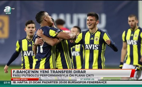 Fenerbahçe'de yeni transfer Dirar