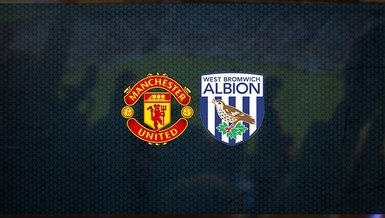 Manchester United - West Bromwich Albion maçı ne zaman, saat kaçta ve hangi kanalda canlı yayınlanacak?   İngiltere Premier Lig