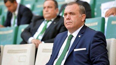 Bursaspor Başkanı Erkan Kamat: Bursaspor'un her kuruşu el konulmuş şekilde