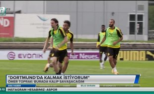 Ömer Toprak: Dortmund'ta kalmak istiyorum
