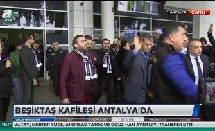 Beşiktaş'a Antalya'da Burak Yılmaz şoku