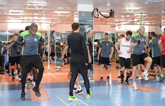 Konyaspor'da Yeni Malatyaspor maçı hazırlıkları