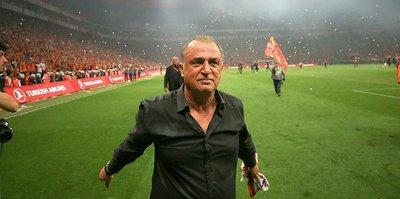 Galatasaray'da Fatih Terim: Alnımızın akıyla teriyle hak ettik