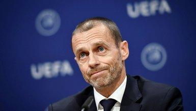 UEFA Başkanı Ceferin'den Fransa'ya eleştiri!