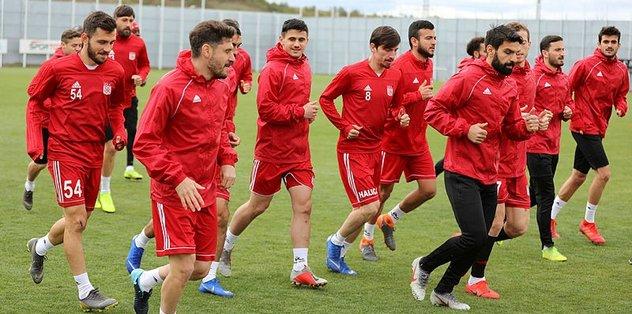 Demir Grup Sivasspor'da Beşiktaş maçı hazırlıkları