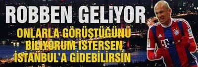 Beşiktaş'a Robben müjdesi