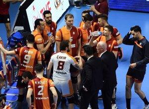 Galatasaray - Trentino maçından kareler