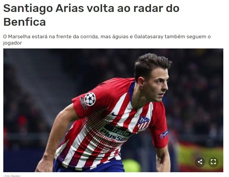 galatasaraya transferde rakip cikti santiago arias 1592318691792 - Galatasaray'a transferde rakip çıktı! Santiago Arias...