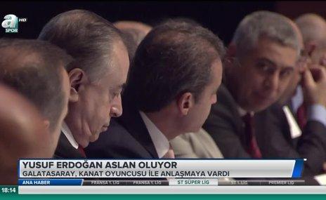 Yusuf Erdoğan Aslan oluyor