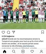 Katar'a transfer olan Eto'o'dan teşekkür mesajı