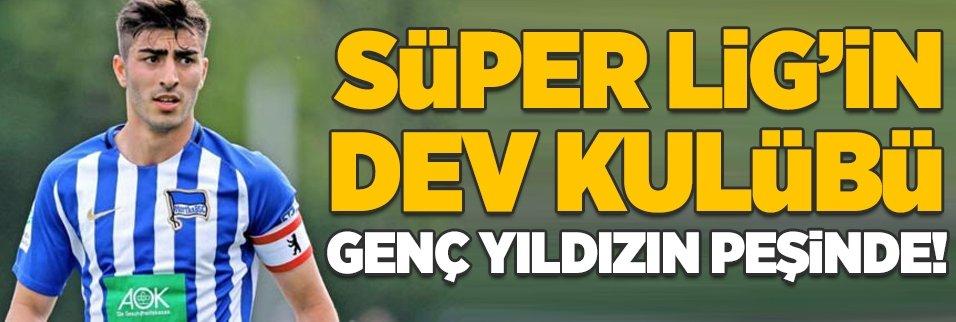 Süper Lig'in dev kulübü genç yıldızın peşinde!