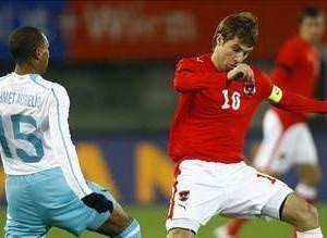 Avusturya - Türkiye maçından kareler