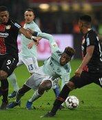 Bayern Münih Leverkusen deplasmanından puansız döndü