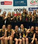 Fenerbahçe U14, Belçika'da şampiyon