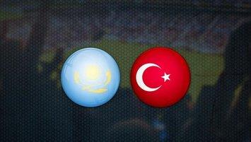 Kazakistan - Türkiye maçı saat kaçta? Hangi kanalda?