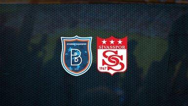 Başakşehir - Sivasspor maçı ne zaman, saat kaçta ve hangi kanalda canlı yayınlanacak? | Süper Lig