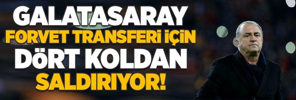 Galatasaray forvet için dört koldan saldırıyor