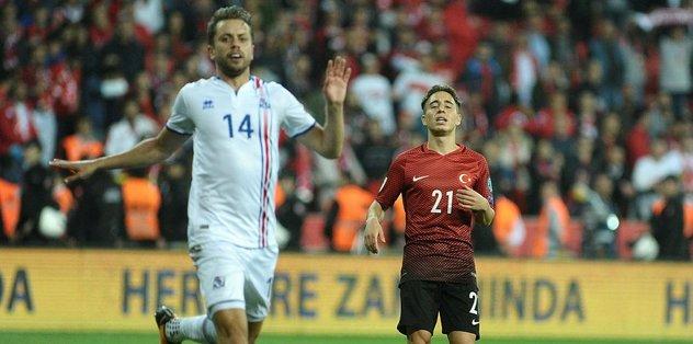 İzlanda'ya 6. yenilgi