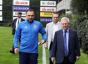 Fenerbahçe antrenmanında sürpriz