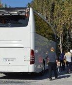 Yalova'da futbol taraftarları ile basketbol taraftarları birbirine girdi