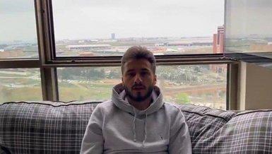 """Kayserisporlu futbolcu Enver Cenk Şahin'den """"Evde kal"""" çağrısı"""