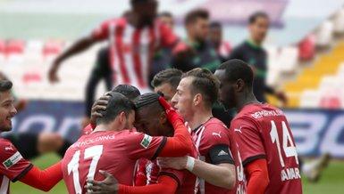 Sivasspor-Konyaspor: 3-1 (MAÇ SONUCU-ÖZET)
