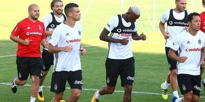 Yeni transfer Pepe ilk idmanına çıktı