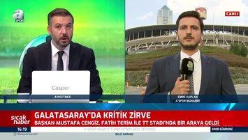 Cengiz ile Fatih Terim arasında kritik toplantı!