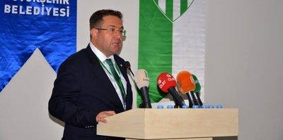 Bursaspor'da istifa