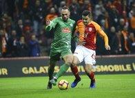 Galatasaray - Rizespor maçından kareler